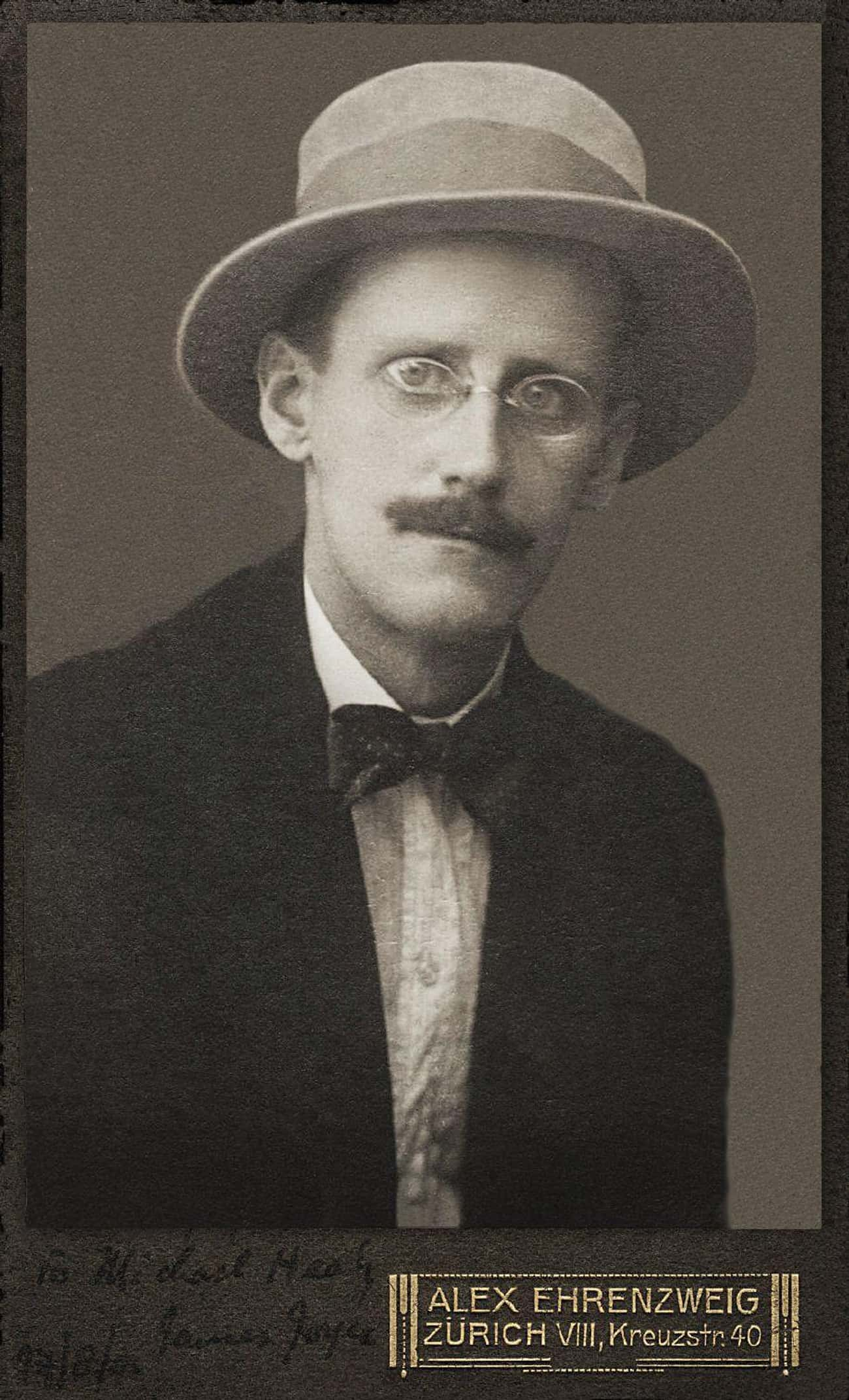 James Joyce is listed (or ranked) 3 on the list The Most Historically Important Perverts Of All Time