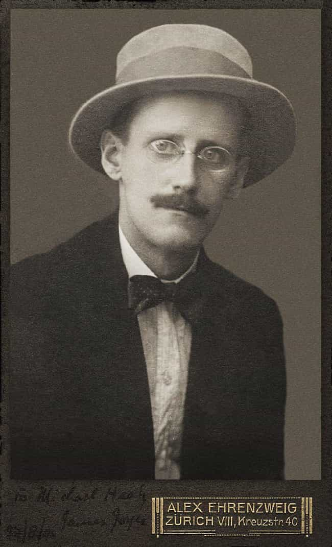 James Joyce is listed (or ranked) 4 on the list The Most Historically Important Perverts Of All Time