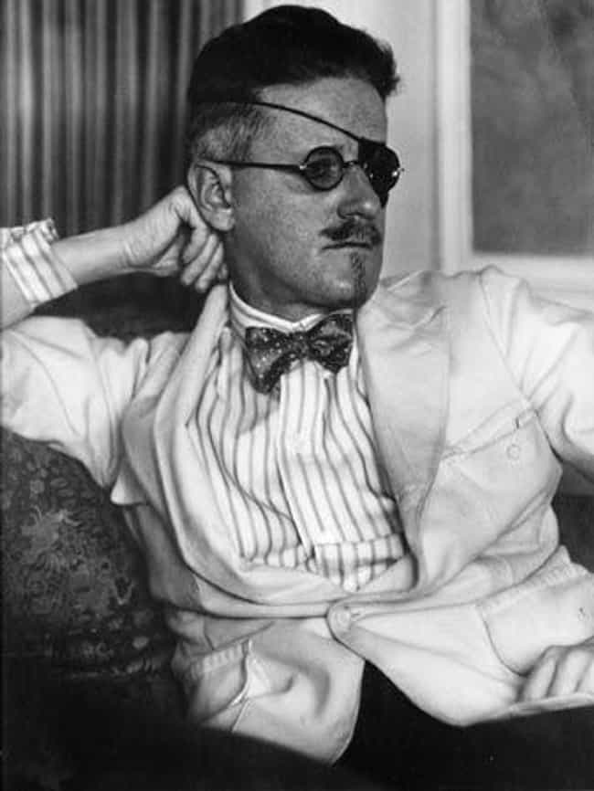 James Joyce is listed (or ranked) 6 on the list Celebrities Who You Never Knew Were Partially Blind