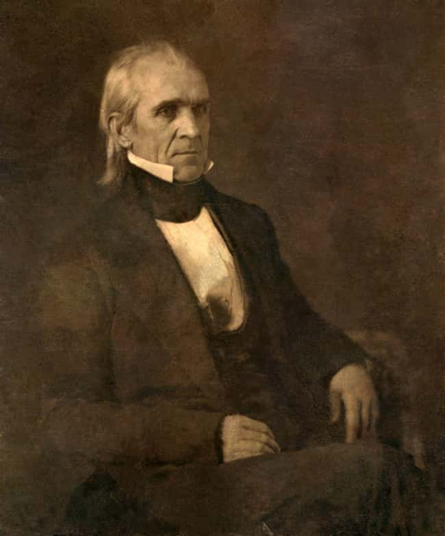 James K. Polk is listed (or ranked) 11 on the list Every U.S. President & Every Medical Problem They've Ever Had