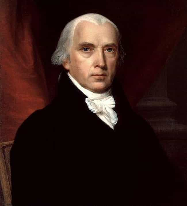 James Madison is listed (or ranked) 4 on the list The Different (Physical) Sizes Of US Presidents