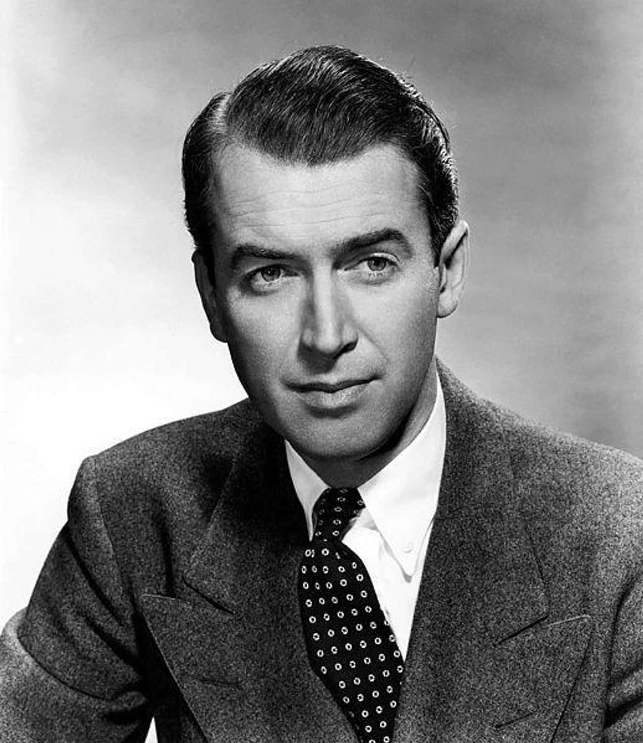 James Stewart is listed (or ranked) 1 on the list 34 Famous Movie Stars of the 1950s