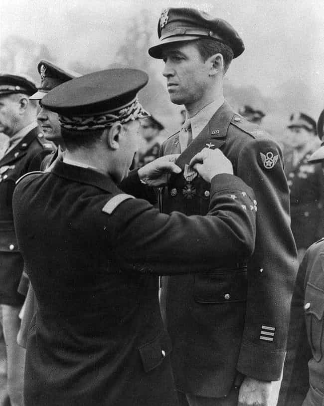 James Stewart is listed (or ranked) 4 on the list 15 Celebrities Who Actually Witnessed Or Were Involved In Real Historical Events