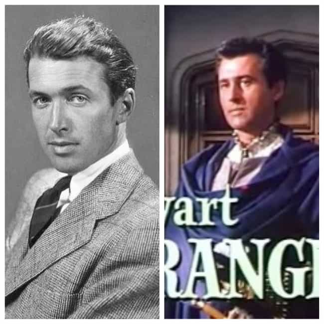James Stewart is listed (or ranked) 5 on the list Famous People with the Same Real Name