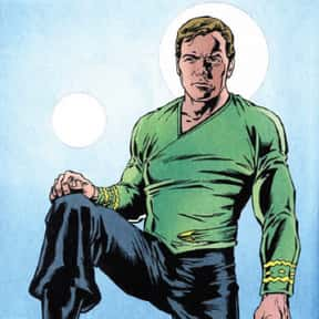 Captain James T. Kirk is listed (or ranked) 2 on the list 20 Comic Book Captains Ranked By Their Leadership Abilities