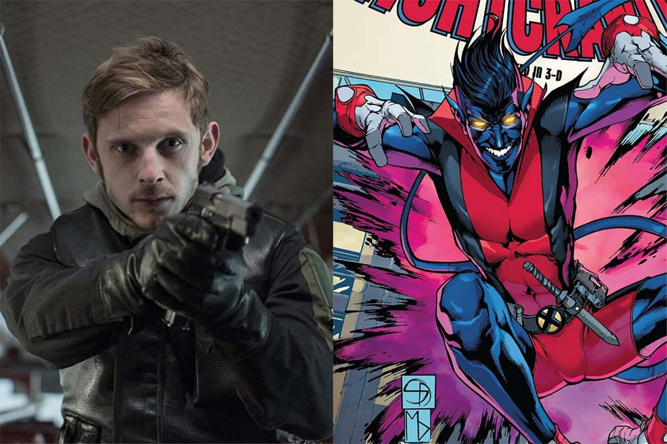 Jamie Bell - Nightcrawler is listed (or ranked) 3 on the list Who Should Star In A Rebooted X-Men For The MCU?