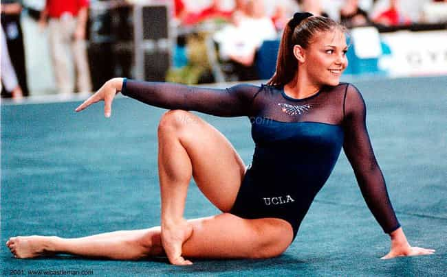 Jamie Dantzscher is listed (or ranked) 3 on the list The Female Gymnasts That Keep You Tuned In