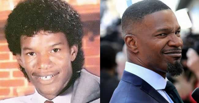 Jamie Foxx is listed (or ranked) 4 on the list What Famously 'Hot' Celebrities Looked Like Before They Got Their Hollywood Makeovers