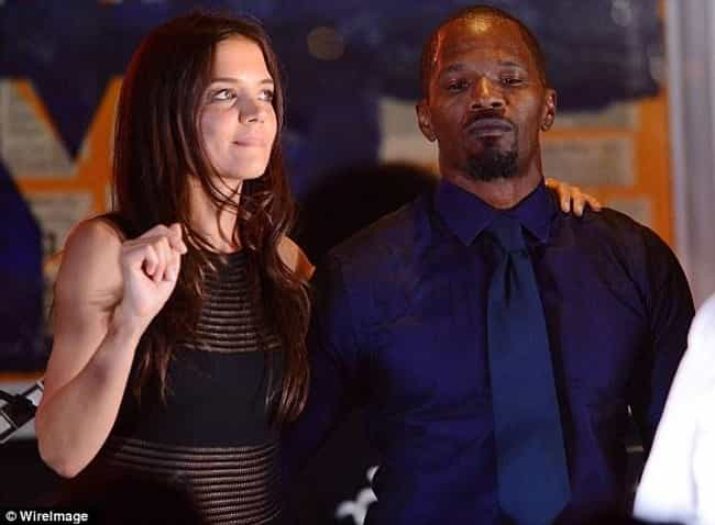 Jamie Foxx is listed (or ranked) 1 on the list Katie Holmes's Loves & Hookups