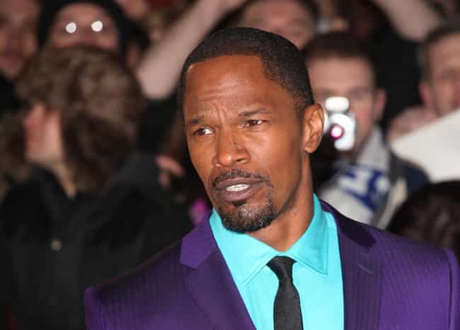 Jamie Foxx is listed (or ranked) 3 on the list Famous Male Pianists