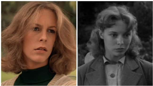 Jamie Lee Curtis is listed (or ranked) 14 on the list 18 Photos Of Celebrities And Their Famous Parents At The Same Age