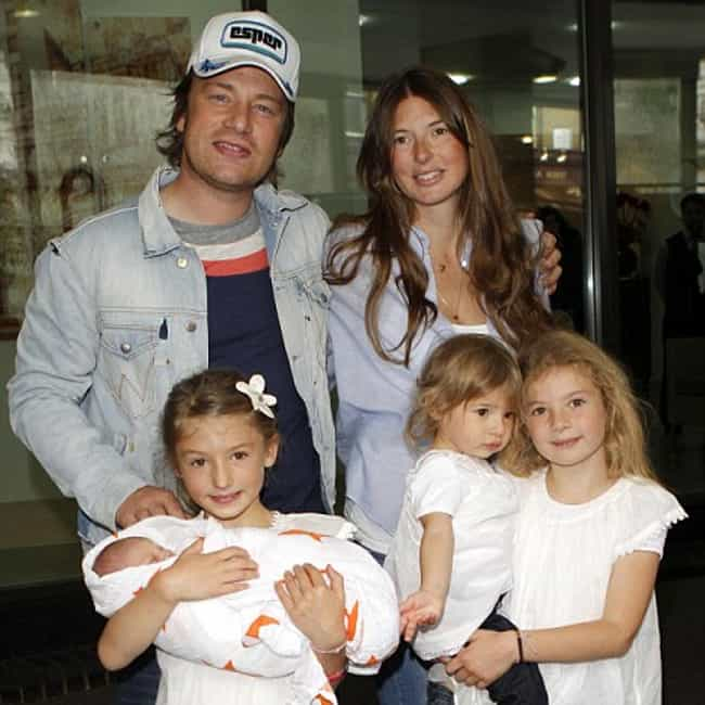 Jamie Oliver is listed (or ranked) 4 on the list Obnoxious Celebrity Baby-Namers