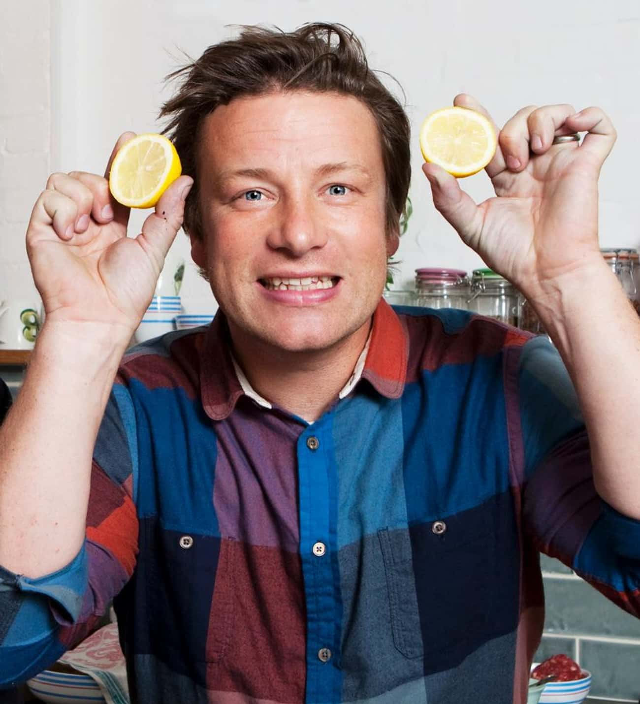Jamie Oliver is listed (or ranked) 3 on the list Famous Male Chefs