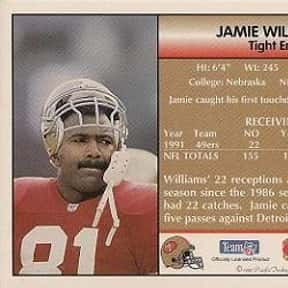 Jamie Williams is listed (or ranked) 13 on the list The Best Tennessee Titans Tight Ends Of All Time