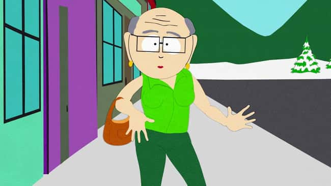Mr. Garrison is listed (or ranked) 8 on the list The Gayest Cartoon Characters