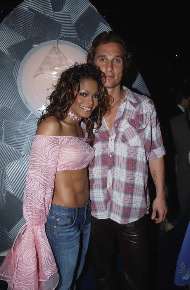 Janet Jackson is listed (or ranked) 4 on the list Matthew McConaughey's Loves & Hookups