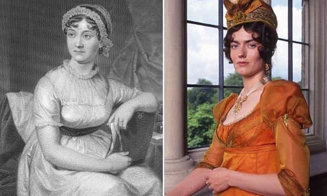 Jane Austen is listed (or ranked) 6 on the list Modern Descendants Of Historical Figures Who Work In The Same Field