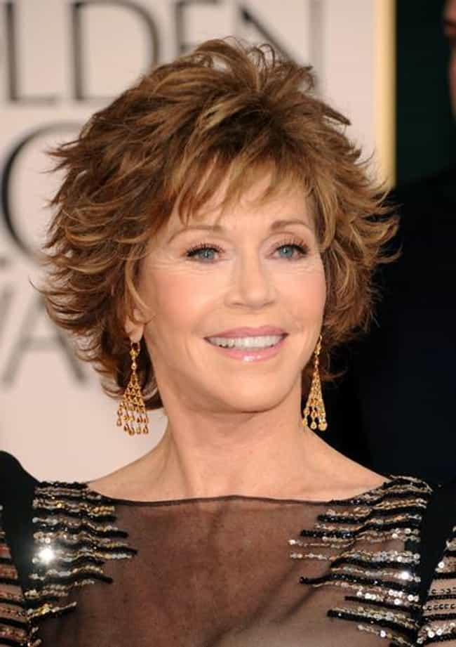 Jane Fonda is listed (or ranked) 3 on the list 24 Celebrities Who Were Raised by Single Dads