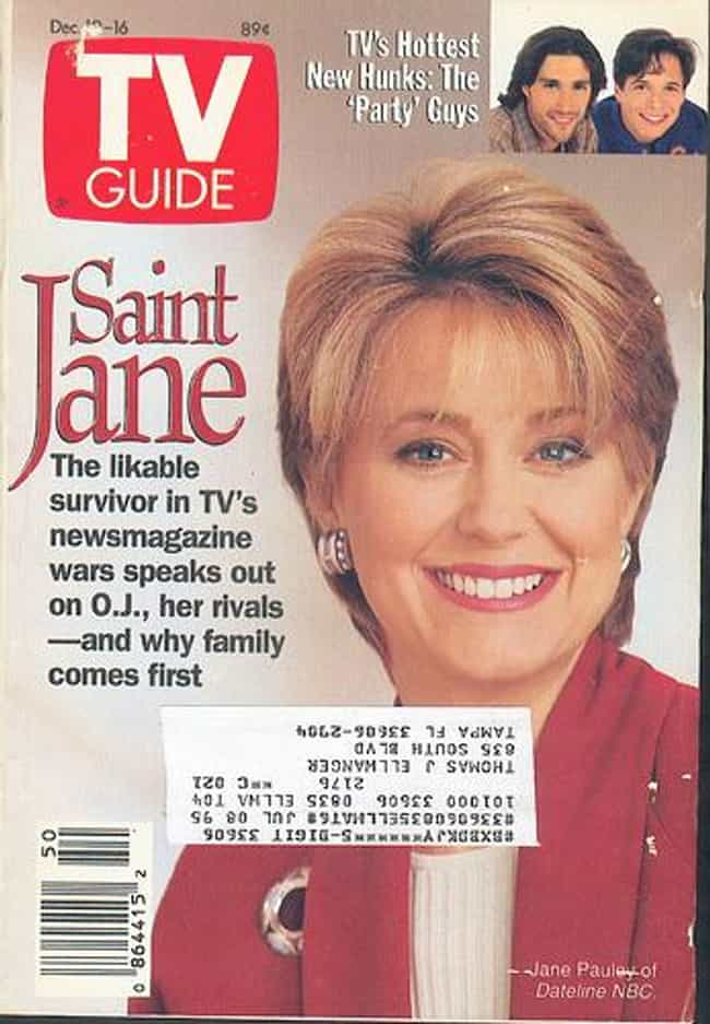 Jane Pauley is listed (or ranked) 3 on the list Dateline NBC Cast List