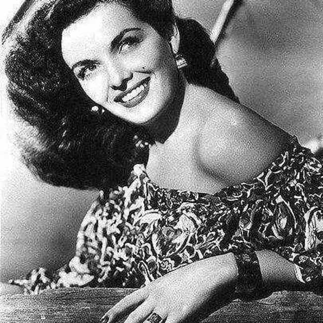 Jane Russell is listed (or ranked) 5 on the list 22 Famous Actresses of the 1950s