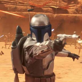 Jango Fett is listed (or ranked) 20 on the list Which 'Star Wars' Character Is The Best Skateboarder?