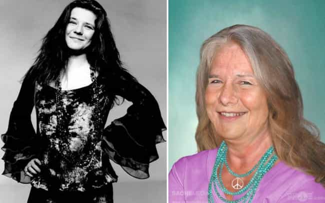 Janis Joplin is listed (or ranked) 6 on the list This Artist Imagined How These Dead Rock Stars Would Look If They Were Still Alive Today