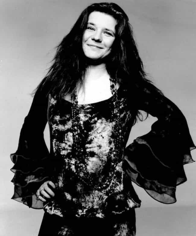 Janis Joplin is listed (or ranked) 4 on the list 20 Rock Stars Who Died Before Age 40