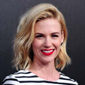 January Jones is listed (or ranked) 1 on the list Famous People Whose Last Name Is Jones