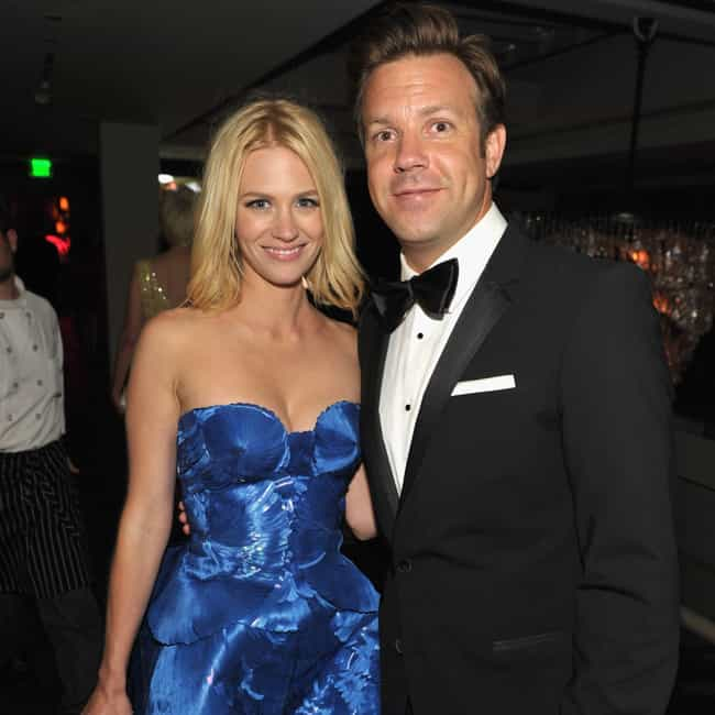 January Jones is listed (or ranked) 3 on the list Jason Sudeikis Loves and Hookups