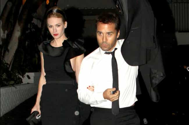 January Jones is listed (or ranked) 3 on the list Jeremy Piven's Loves & Hookups