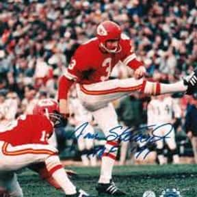 Jan Stenerud is listed (or ranked) 17 on the list The Greatest NFL Kickers of All Time