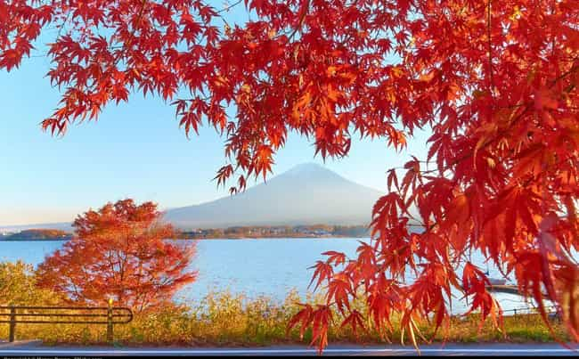 Japan is listed (or ranked) 2 on the list The Most Beautiful Countries in Asia