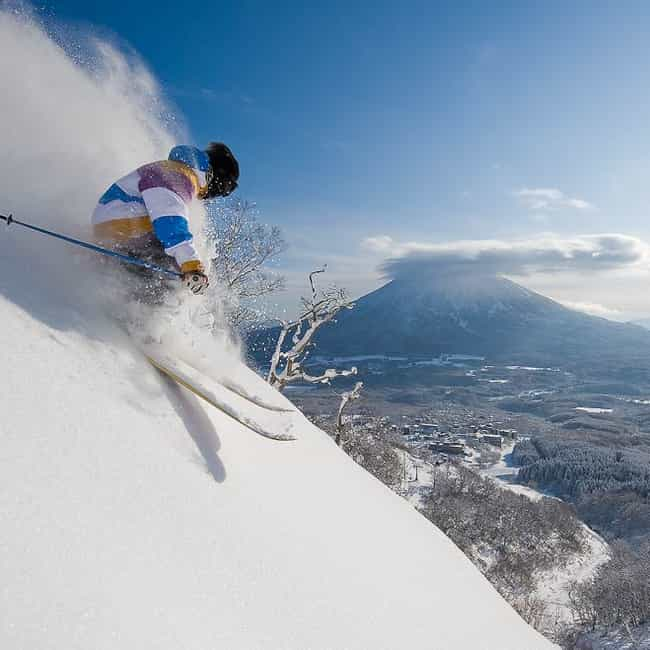 Japan is listed (or ranked) 7 on the list The Best Countries for Skiing
