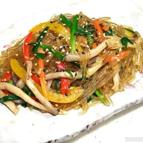 Japchae is listed (or ranked) 10 on the list The Best Korean Food