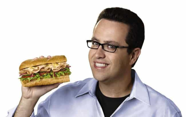 Jared Fogle is listed (or ranked) 3 on the list Wholesome TV Dads Who Turned Out To Be Pervs In Real Life