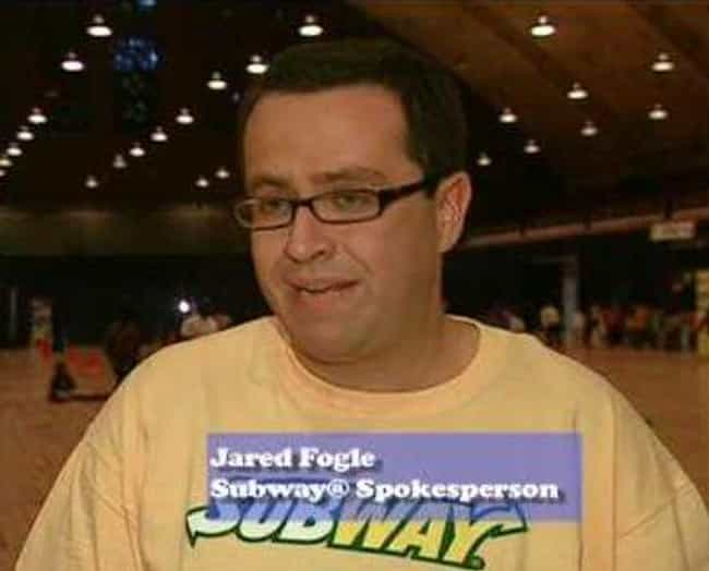 Jared Fogle is listed (or ranked) 2 on the list Fun Old Cameos In Movies And TV Shows That Make You Cringe Now