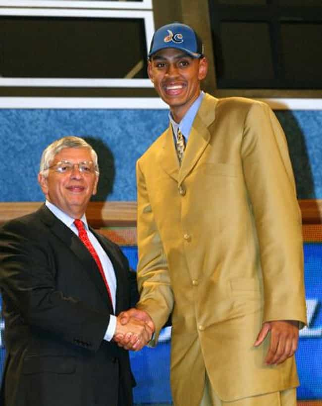 Jared Jeffries is listed (or ranked) 4 on the list The All Time Loudest Suits Worn to the NBA Draft