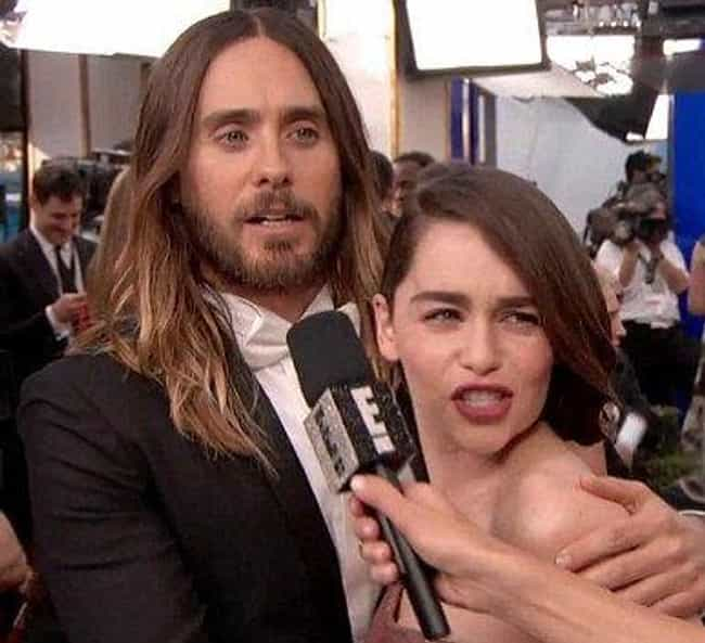 Jared Leto is listed (or ranked) 3 on the list Emilia Clarke Loves and Hookups