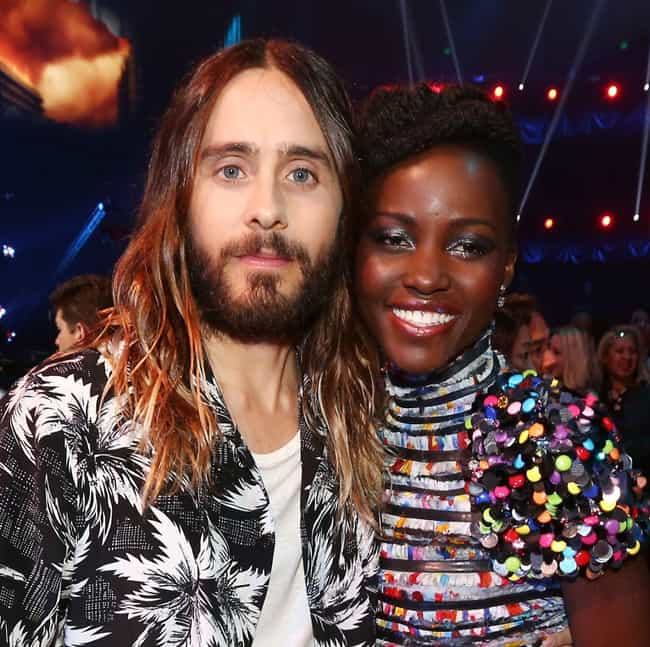 Jared Leto is listed (or ranked) 3 on the list Lupita Nyong'o Loves and Hookups