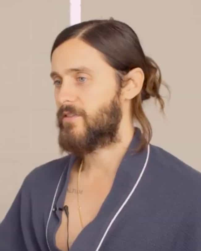 Jared Leto is listed (or ranked) 1 on the list The Most Glorious Celebrity Man Buns