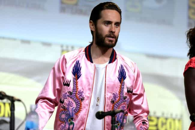 Jared Leto is listed (or ranked) 2 on the list Celebrity Men Who Are Way Older Than You Think
