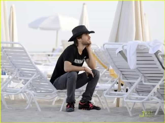 Jared Leto is listed (or ranked) 3 on the list Hot Celebrity Guys in Cowboy Hats