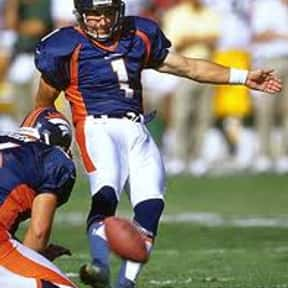 Jason Elam is listed (or ranked) 7 on the list List of Famous Football Placekickers