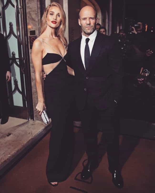 Jason Statham is listed (or ranked) 1 on the list Every Man Rosie Huntington-Whiteley Has Dated