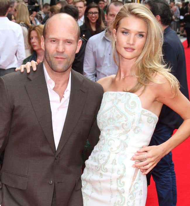 Jason Statham is listed (or ranked) 28 on the list 48 Famous Couples with Huge Age Differences