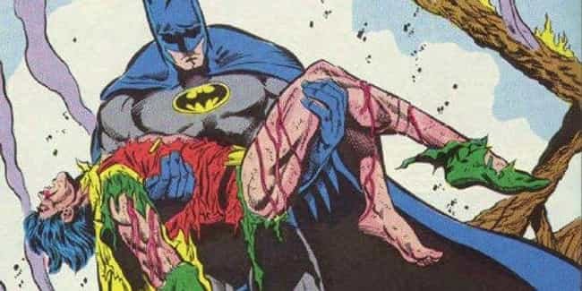 Jason Todd is listed (or ranked) 4 on the list The Darkest Stories in Comics