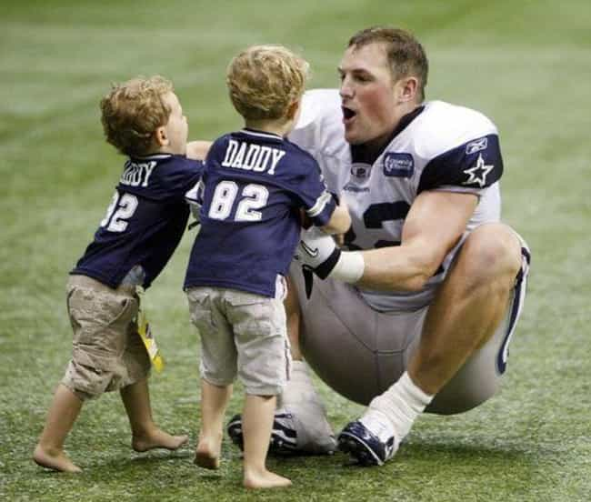 Jason Witten is listed (or ranked) 4 on the list Adorable Pictures of NFL Players Caught Being Dads