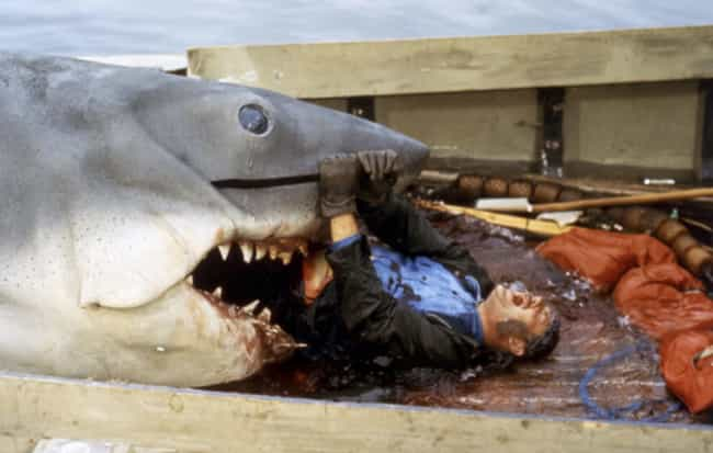 Jaws is listed (or ranked) 3 on the list The Most Disturbing Horror Movie Scene From The Year You Were Born