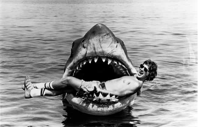 Jaws is listed (or ranked) 3 on the list 35 Awesome Behind the Scenes Pictures of Movie Monsters