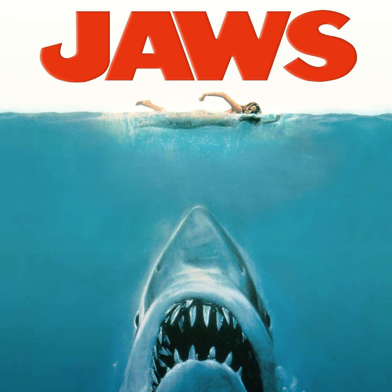 Jaws is listed (or ranked) 4 on the list The Most Terrifying Horror Movies That Are Based on Books